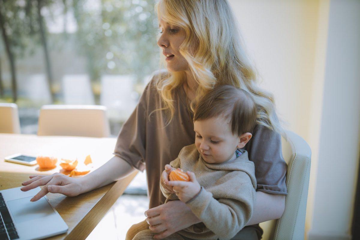 3 dicas para mamães que são nômades digitais (Foto de Anastasia Shuraeva no Pexels)